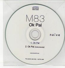 (DQ560) M83, OK Pal - DJ CD