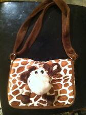 GIRAFFE bag, Plush kids purse Giraffe