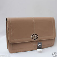 NEW NEXT LEATHER COLLECTION CELEBRITY BEIGE CREAM CLUTCH EVENING OCCASION BAG