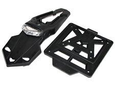 Kennzeichenhalter LED, Integra Racing schwarz (60°) KTM LC4 EXC