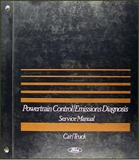 1989 Ford and Lincoln Engine Emissions Diagnosis Manual
