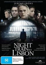 Night Train To Lisbon (DVD, 2014)