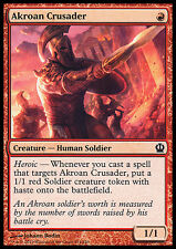 MTG 4x AKROAN CRUSADER - CROCIATO DI AKROS - THS - MAGIC