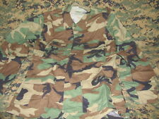 US army military winter weight bdu woodland small regular used blouse top GI new