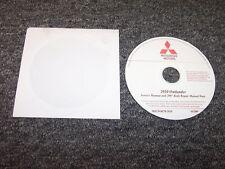2010 Mitsubishi Outlander Shop Service Repair Manual DVD ES SE XLS 2.4L 3.0L V6