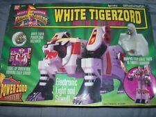 2271 NIB 1994 Mighty Morphin Power Rangers White Tigerzord & White ranger. #2