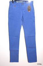 Pantalon Chino Homme BIAGGO JEANS Taros Indigo - Taile 28 US (38 FR) - NEUF