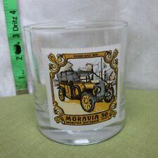 RUSSO-BALT Wagon Factory 1909 classic car Moravia drink glass C24-40 Russia