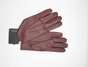 NEW 850,00 $ KITON Napoli  Gloves Luxury Leather  Size 8