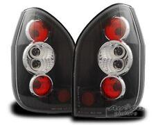 Design Rückleuchten Set Schwarz Klarglas passend für Opel Zafira A
