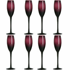 Premier Housewares Champagne Glasses - Purple Set of 4
