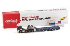 IMC MODELS DAF EURO 6 SCC 8x4 + NOOTEBOOM MCO-PX 6 AXLE TRAILER COLLETT 32-0019