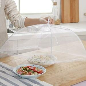 1 Set Of Protective Food Cake BBQ Covers Insect Folding Mesh S9J1 Umbrella Hot