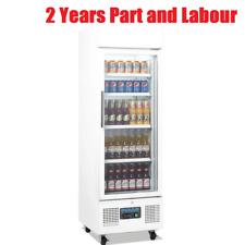 Polar Upright Drink Snack Display Fridge 218Ltr White 530Wx575Dx1692Hmm