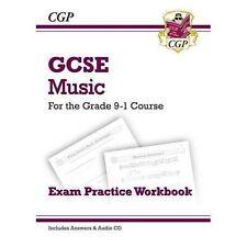 CGP GCSE Music Exam Practice Workbook Grade 9-1 Course + Audio CD & ANSWERS