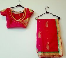 Beaitiful Latest Fancy Saree / Free Stitched designer blouse