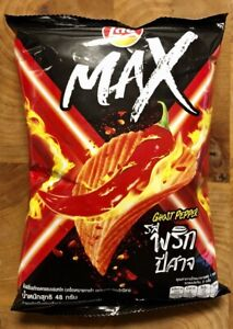 Lays Max Ghost Pepper Chips (Thai)