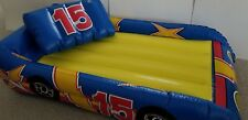 Child's Inflatable Race Car Mattress with Pillow by Tony USA