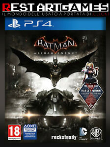 BATMAN ARKHAM KNIGHT - PS4 - PLAYSTATION 4 - USATO GARANTITO