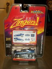 NEW Johnny Lightning - Zingers Street Freaks 1969 Baldwin Motion Camaro Blue