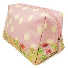ORVAL Grand Toiletry Bag Make up Travel Case Étui de rangement Rose Cottage Design