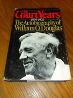 The Court Years: 1939 - 1975 The Autobiography of William O. Douglas 1980,HC #sr