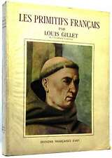 Les Primitifs Francais..GILLET,Louis..Book.Good