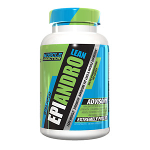 Muscle Addiction EPIANDRO LEAN Fat Loss + Muscle Definition, 60 Capsules - 07/22