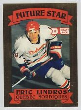 1990-91 AAMER SPORTS ERIC LINDROS FUTURE STAR GOLD FOIL PRE ROOKIE /10000 Draft
