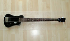 Höfner Shorty Bass black - 4-Saiter E-Bass inkl. Tasche