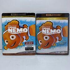 Finding Nemo (4K Ultra Hd + Blu-ray + Digital copy) With slipcover New!