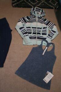 Lot of Lululemon Rare Ebb Pants,  Limited Edition Hoodie and BNWT Tank sz 6
