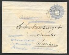 British Guiana covers 1898 imp cover Georgetown to Surinam
