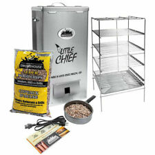 Smokehouse Little Chief Top Load Outdoor Cooking BBQ Electric Wood Chip Smoker