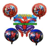 "18"" Giant Spiderman Superhero Marvel Foil Balloon Helium Party Birthday baloons"