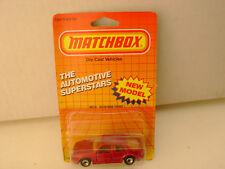 1987 Matchbox Superfast Mb 15 Saab 9000 Turbo New On Card