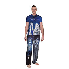 BBC Men's Doctor Who Pj's - Weeping Angels Lounge Set - MENS DOCTOR WHO PAJAMAS