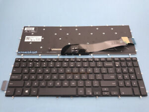 NEW For DELL Latitude 3590 Vostro 5568 7570 7580 English Keyboard Backlit