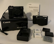Canon PowerShot G7 X Mark II 20.1 MP Digital Camera - 6 Batteries Silicon Case