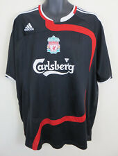 Adidas Liverpool 2007-08 Third CL 3rd Football Shirt Soccer Jersey Mens XL