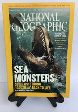 NATIONAL GEOGRAPHIC DECEMBER 2005 SEA MONSTERS!