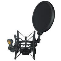 Microfono ragno Supporto per montaggio a shock Supporto per microfono in
