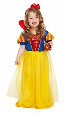 Toddler Snow Girl Childs Fancy Dress Up Party Costume Age 3 World Book Day NEW