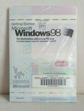 Microsoft Windows 98 Getting Started IBM New Sealed W/ Disc