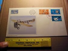 History of Aviation Covers 1979 Bleriot Monoplane Heritage Postal Repo cover RAR