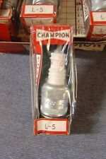NEW CHAMPION L5 CLASSIC CAR MOTOR CYCLE SPARK PLUG SHORT REACH 14 MM