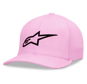 Alpinestars Women's Ageless Hat Pink Motorcycle Cap One Size 1W38-81100-3101