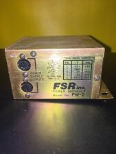 FSR INC. POWER MANAGER PM-2
