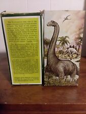 Avon Bubble Bath For Children Brontosaurus 2 Pack With Box (empty)
