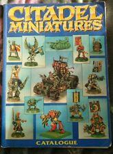 Citadel Miniatures Catalogue - Vintage Games Workshop (1991)